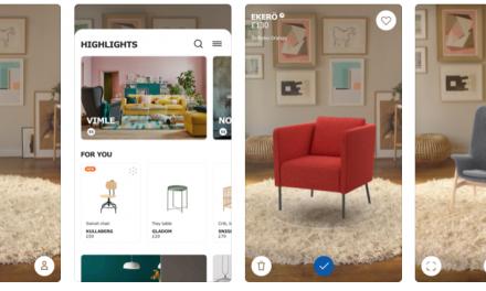 Ikeas nyheter ryms i en app
