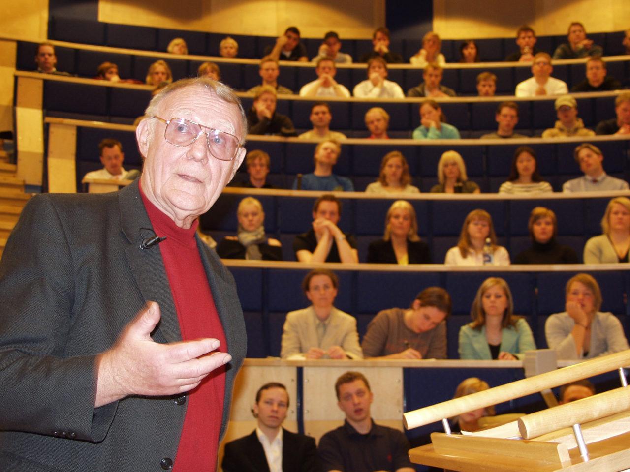 EXTRA: Ingvar Kamprad död