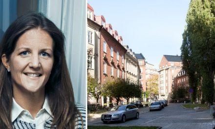 Hon köpte lägenhet för 125 miljoner – trots prisfallet