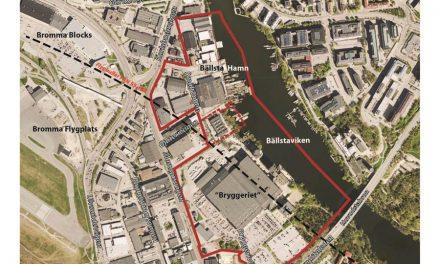 12000 nya lägenheter när Bällsta blir ny stadsdel
