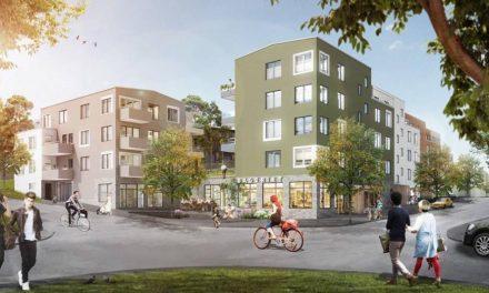Trots protester: Nu byggs 56 nya lägenheter i Nockebyhov