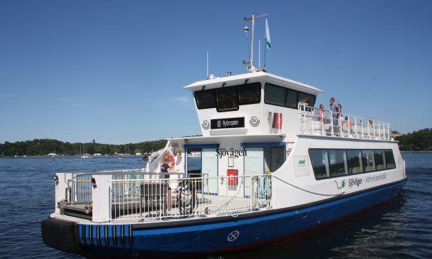 Ny linje för båttrafik mellan Nacka och City utreds nu