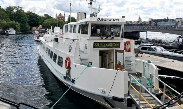 Tätare tur gav att tre gånger fler valde pendelbåten