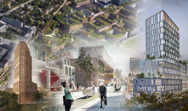Fyra förslag när Täbys nya stadskärna ska avgöras
