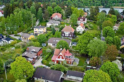 Villapriserna i Täby har stigit med två miljoner på fem år