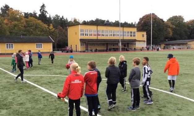 Gratis sportkollo för alla barn på Stora Mossen