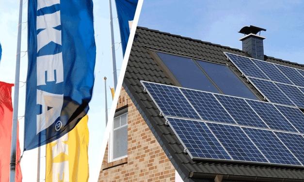 Ikeas solstrålar pressar priserna på solcellerna
