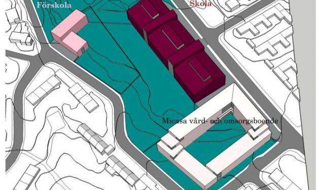 Här byggs Högdalens nya grundskola för 900 elever