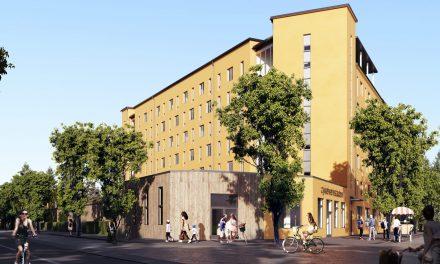 Satsning på små lägenheter i den nya Cykelverkstaden