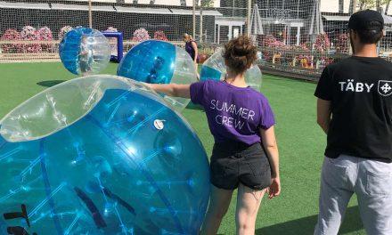 Unga utmanar sig själva på årets Täby Summerbreak
