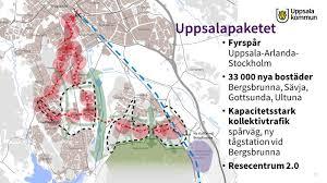 Staten lägger 900 miljoner kronor på Uppsalapaketet