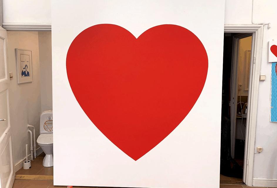 Martin Thelander öppnar sitt hjärta hos Galleri Thomas Wallner