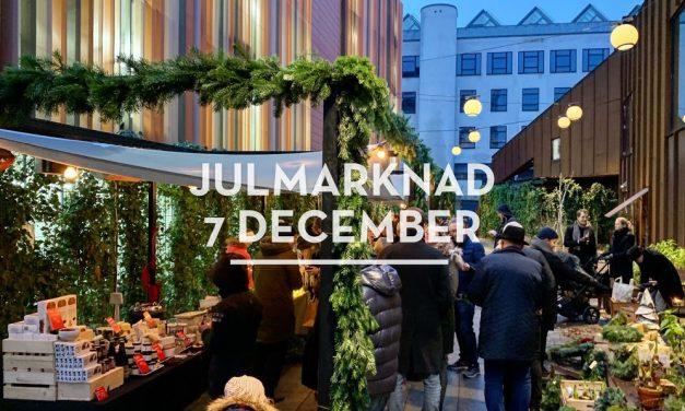 Julmarknad på Malmö Saluhall 7 december