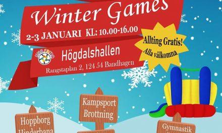 Missa inte ungdomarnas eget Winter Games 2019