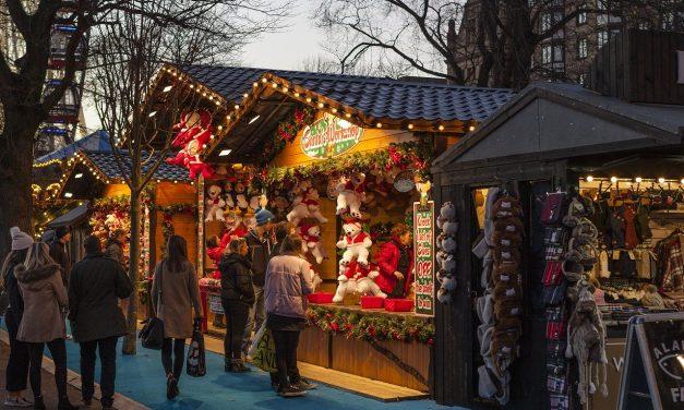 I helgen är det premiär för alla våra julmarknader!