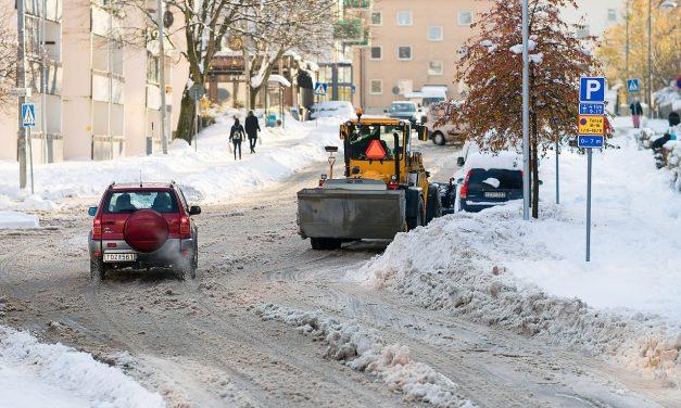Det som göms i snö kommer fram i tö: Vi slipper i alla fall kritik mot snöröjningen …