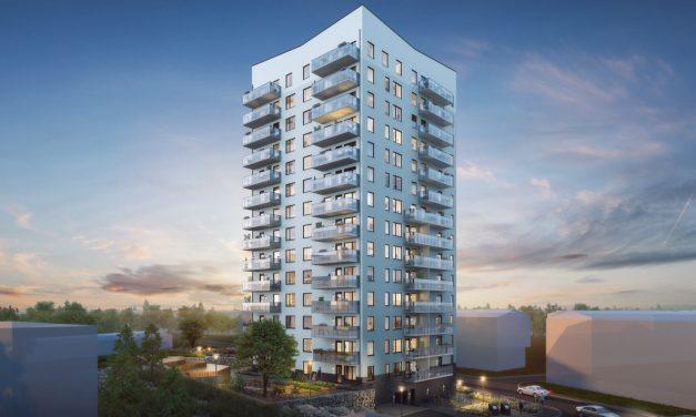 Klart för byggstart av 15-våningshus i Bandhagen
