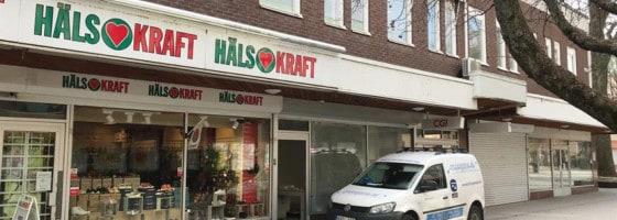 Borlänge får obemannad butik lagom till coronan