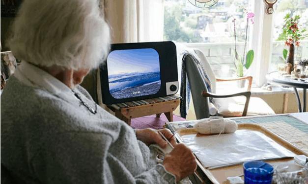 En-knappsdatorn är som gjord för ensamma äldre
