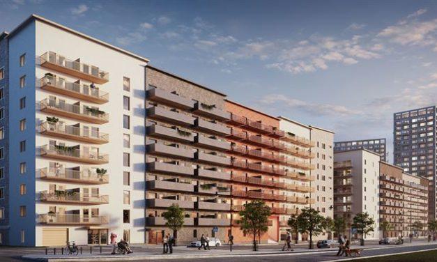 424 lägenheter byggs i Södra Häggvik