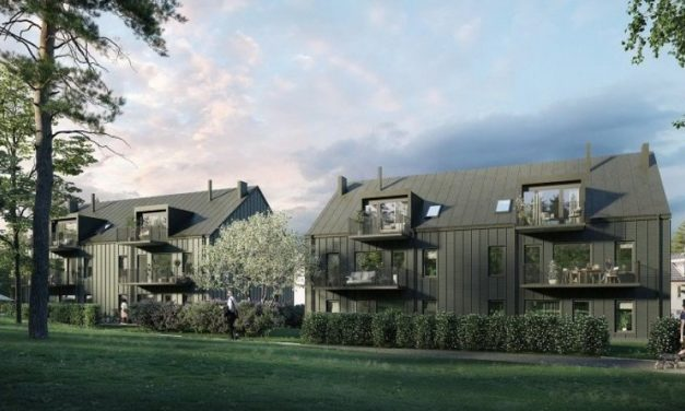 42 lägenheter i flerbostadshus i trä byggs i Bromma