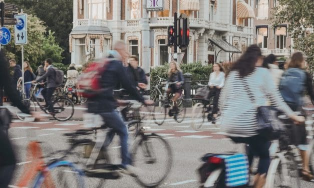 Nu öppnar Göteborgs första cykel-p-hus