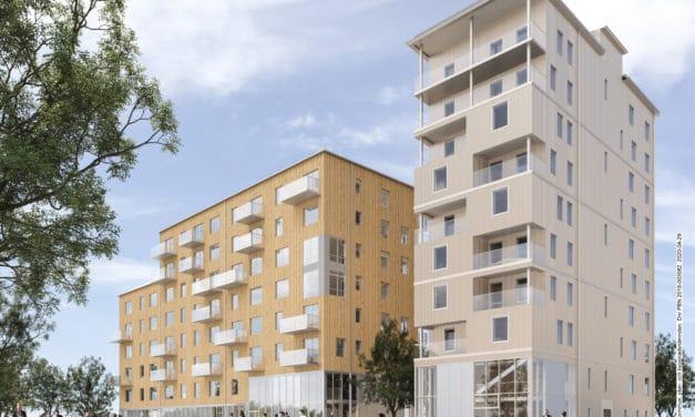 Kommunen ger bygglov för 222 hyresrätter