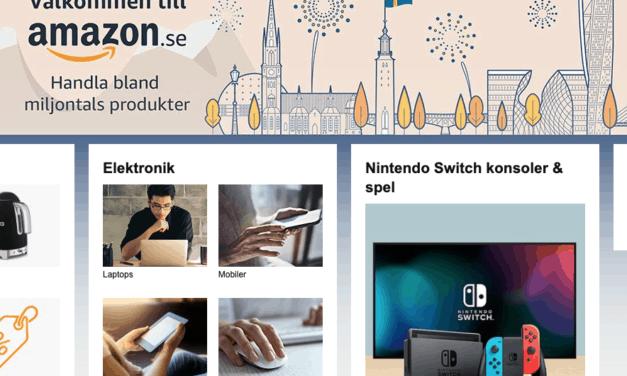 Amazon Sverige är här