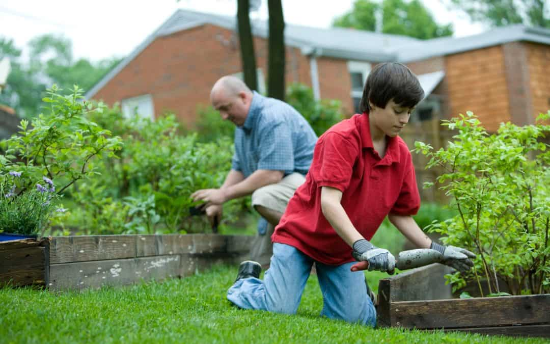 Though a very positive activity, gardening exposes the gardener to a number of possible bodily injuries, therefore, using personal protective equipment (PPE) is always recommended, including knee pads, gloves that would guard against exposure to pesticides, abrasions, and insect bites, and jeans that would protect one against the harmful effects of the sun's rays, insect bites, and abrasions. It's recommended that sunscreen be applied to skin exposed to the sun. A hat and goggles might also be recommended. Don't forget to properly wash your hands after working in the dirt.