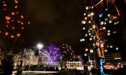 Vinter i City lyser upp Malmö