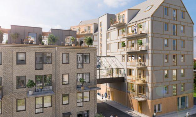Sälj- och byggstart för 47 lägenheter i Hyllie