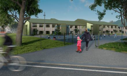 Nya Gylle grundskola i Borlänge byggs för 620 miljoner kronor