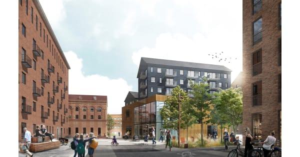 900 bostäder byggs på Skeppskajen i Uppsala