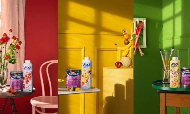 Nu ska yoghurten ut ur kylskåpet och upp på väggarna!