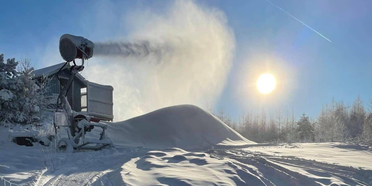 Nu är det klart: Snön säkrad i Vallåsen 2022