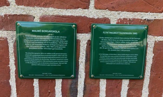 Därför skyltar vi upp Malmös historia