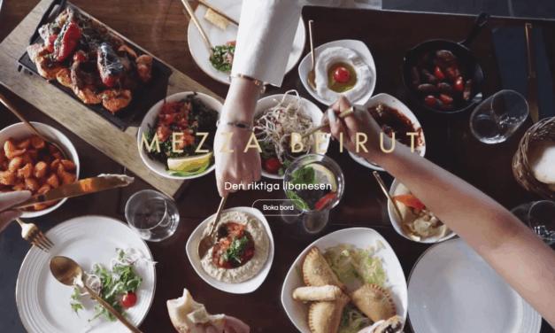 Nöj dig inte med ord – besök Mezza Beirut!