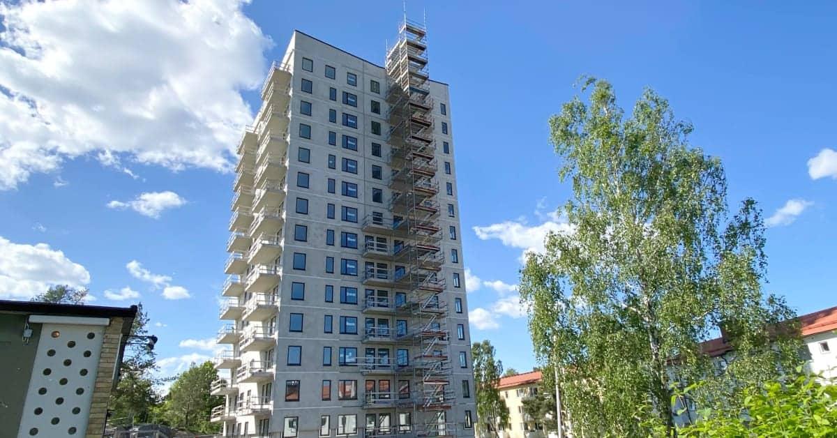 Hyrköpta lägenheter snart klara i Bandhagen